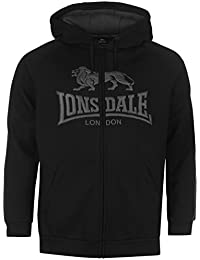 Lonsdale Herren Outdoor Kapuzenpullover Zip Hoody Hoodie Sweatjacke Sweatshirt