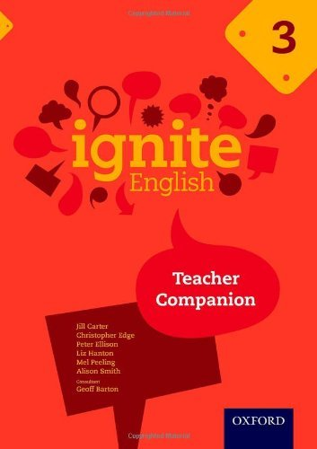 Ignite English: Teacher Companion 3 by Jill Carter (2014-02-13)