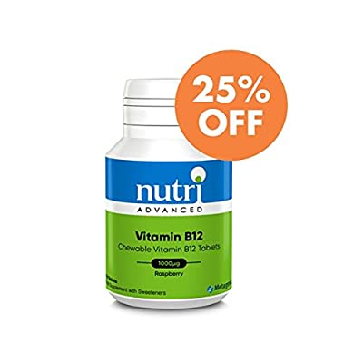 Nutri Advanced Vitamin B12 Chewable Tabs 120