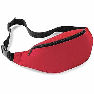 Bag base - Sac banane - BG42 - mixte - coloris rouge classique