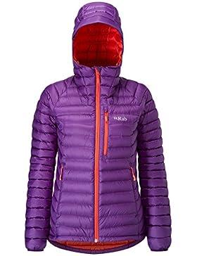 Chaqueta Rab Microlight Alpine Jacket mujer nightshade (morado) XL