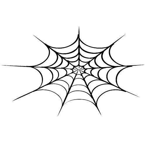 haotong11 24 * 15 cm Halloween Spinnennetz Persönlichkeit Auto Aufkleber Motorrad Auto Dekoration Mode-Accessoires Aufkleber 5 stücke