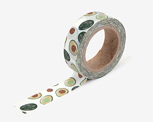 Premium Washi Tape Welsh Corgi für Heimwerker, Scrapbook, Planer, Geschenkverpackungen, süßes Welsh Corgi Design by Love My Tapes 5/20,3cm Breite x 32,8Fuß Länge Hund Liebhaber Avocado 104 -