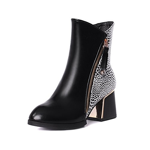 an-womens-rivet-chunky-heels-metal-ornament-black-imitated-leather-boots-65-uk
