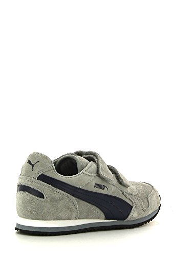 Puma , Baskets pour garçon Multicolore - Grey/Navy