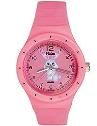 Vizion Analog Pink Medium Dial (Bugs Bunny-The Crazy Rabbit) Cartoon Character Watch For Kids-8825-3-1