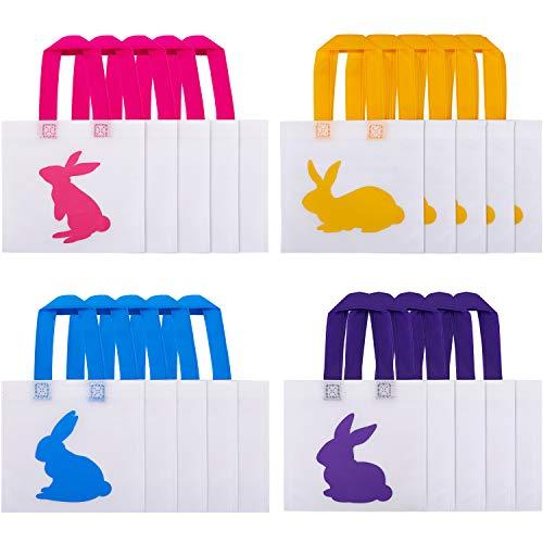 Ostern Hasen Taschen Ostern Geschenktüte Tragetaschen Nicht-gewebt Polyester Treat Taschen für Ostern Gefälligkeiten, 4 Stile ()