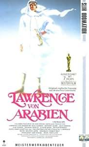 Lawrence von Arabien (Original-Fassung mit deutschen Untertiteln) [VHS]