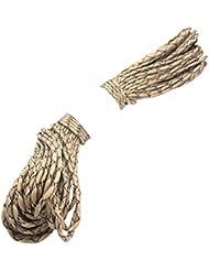 Cuerda del paracaidas - TOOGOO(R) Paracord Cuerda del paracaidas, con 7 hilos, 550 lbs, 100 ft - Camuflaje de desierto