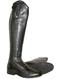 Mark Todd - Botas de equitación (piel, con cremallera)