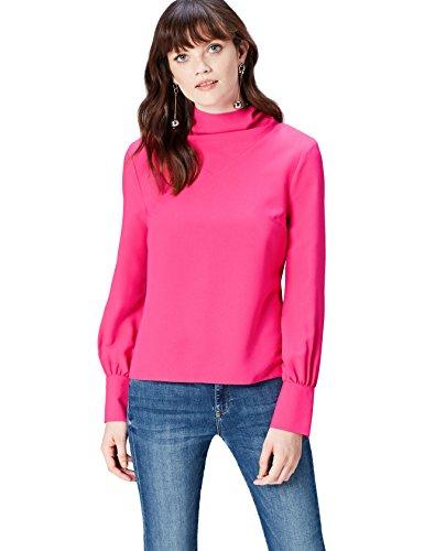 Find. an5478, camicia donna, rosa (fuchsia pink),  small