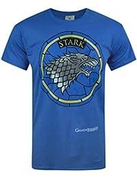 Official Juego de Tronos - Casa Stark - Camiseta Oficial Hombre