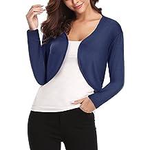 timeless design 070f5 45e2e Amazon.it: giacca bianca donna - Blu