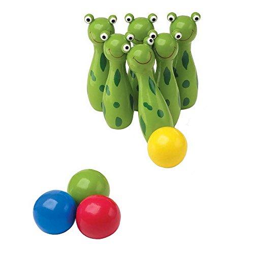 166 - Boule Spiel - Kegel - Frosch ()