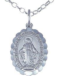 2f0f9adab9d Medalla Orlada de Plata de Ley de la Virgen Milagrosa