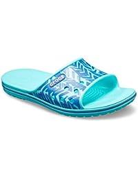 crocs Unisex Adult CB II Global Texture Slide Blue Jean/Pool