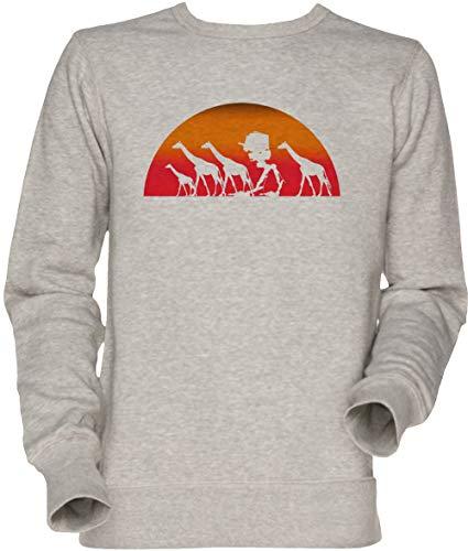 Vendax Erkunden Herde Herren Unisex Herren Damen Jumper Sweatshirt Grau Men's Women's Jumper Grey - Herde Jumper