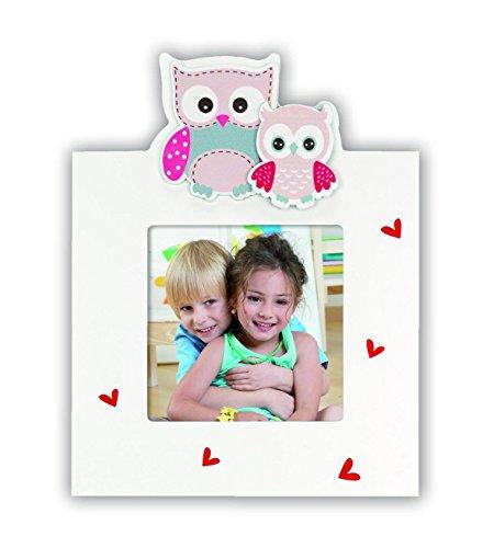 ZEP Leda - Portafotos de madera infantil de tamaño 13x18