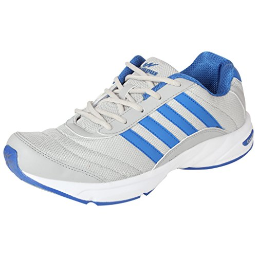 Action Campus 3G378 Mens LightGrey RoyalBlue Synthetic Casual Shoes Size:9UK