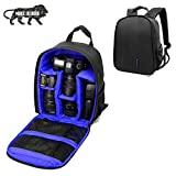 Brain Freezer J DSLR SLR Camera Lens Shoulder Backpack Case for Canon, Nikon Sigma Olympus (Exotic Blue)