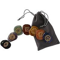 Chakra-Steine [7 Heilsteine + E-Book-Anleitung] von DJABBAH | Handgefertigte Edelsteine für Meditation und Energietherapie... preisvergleich bei billige-tabletten.eu