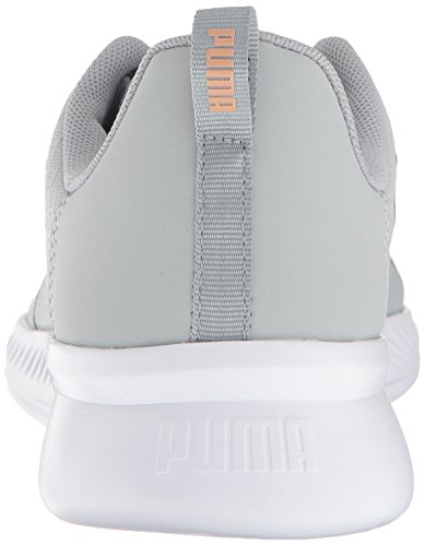 PUMA Women s Tishatsu Runner WN s Sneaker  Quarry-Dusty Coral  5 5 M US