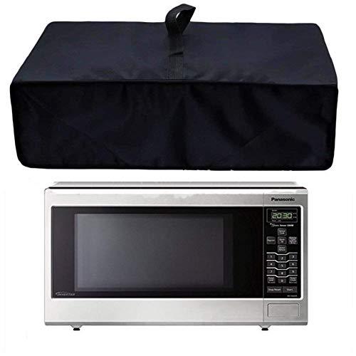 QEES WBLZ01 - Protector para parrilla de horno de microondas resistente al calor, impermeable, resistente al polvo, protección contra rayos ultravioleta (horno microondas)