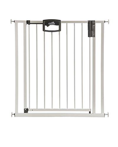 Geuther - Türschutzgitter Easylock 4791+, für Kinder, Hunde und Katzen, Befestigung ohne Bohren,...
