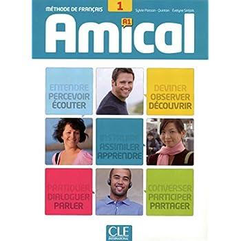 Amical 1 - Niveau A1 - Livre de l'élève + CD audio