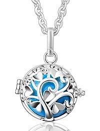 Eudora de armonía del árbol de amor colgante de collar de cadena con para maternidad Perfume jaula