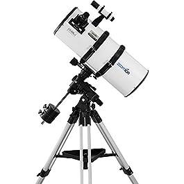 Zoomion Genesis 200/800 EQ-4 Telescopio astronomico Riflettente per Adulti e Adolescenti e Principianti di Astronomia