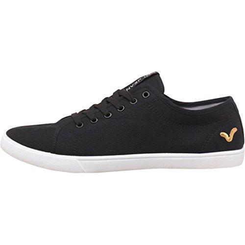 hommes-garcons-voi-jeans-sanford-formateurs-de-toile-lacent-vers-le-haut-chaussures-noir-41