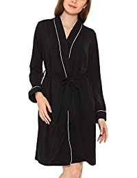 Yulee Femme Robe de chambre Longue Chaud Coton