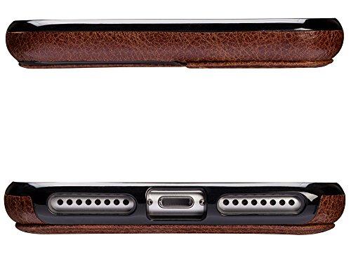 Sena Lugano Schutzhülle für Apple iPhone 7Plus–cognac-parent denim