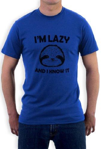 I'm Lazy And I Know It Blau