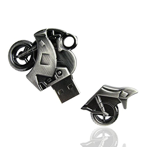 Shooo 8gb strong metallo motociclo chiavetta usb memory stick