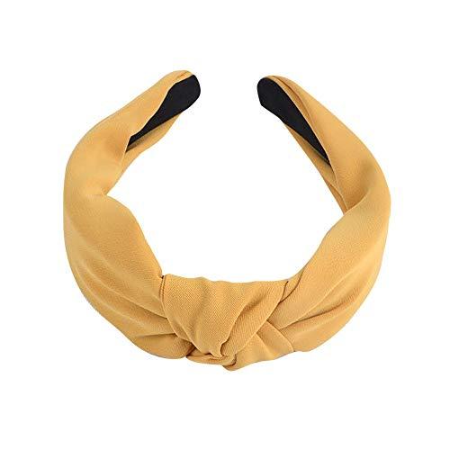 OSYARD Haarreife Headband Stirnband Vintage Kopf Warp mit Knoten koreanisches und verknotetes Haarband Haarreifen für Damen