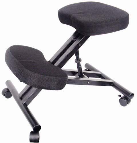 Eazygoods - Silla de oficina, taburete, silla sin respaldo, silla de rodilla...
