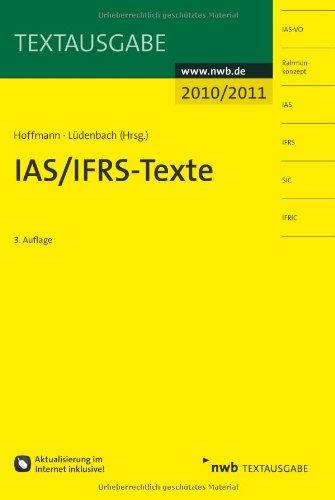 IAS/IFRS - Texte 2010/2011