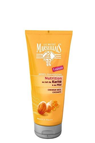 le-petit-marseillais-apres-shampooing-cheveux-secs-abimes-cassants-karite-miel-tube-200-ml-lot-de-2