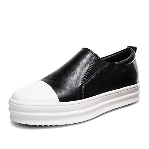 spring Lok Fu chaussures/Femelles épaisse semelle chaussures occasionnelles foulés/chaussures basses confortables/Chaussures plates A