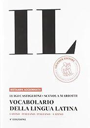 Vocabolario della lingua latina in brossura.