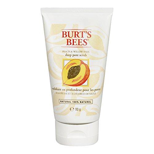 burts-bees-peeling-fur-tiefe-porenreinigung-mit-pfirsich-weidenrinde-1er-pack-1-x-110-g