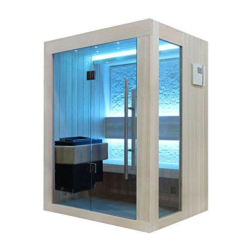 EO-SPA Sauna B1252A helle Pinie/150x110/3kW EOS BiO-Mini