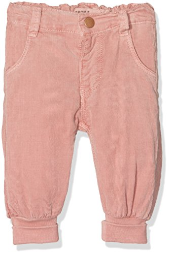NAME IT Baby-Mädchen Hose Nitandrea Reg/R Cord Pant Mznb, Rosa (Rose Tan), 62
