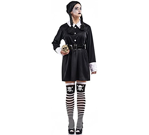 Imagen de disfraz de colegiala siniestra para mujer