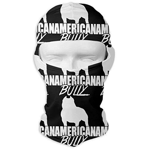 Jxrodekz American Bully Logo Anti Dust Gesichtsmasken für Männer Frauen Outdoor Sports Block-logo-hut