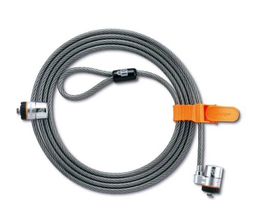 kensington-64025-cavo-di-sicurezza-con-2-lucchetti-22-m-acciaio
