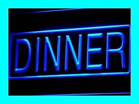 Enseigne Lumineuse i422-b Dinner Cafe Restaurant Display Neon Light Sign
