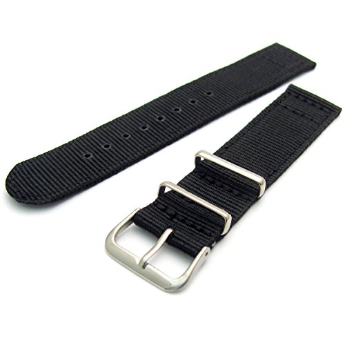 tough-two-piece-nylon-webbing-watch-strap-stainless-steel-buckle-and-keepers-18mm-black